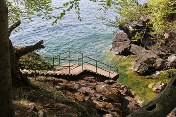 Staircase at Stocklycke Harbour. Photo: Bernd Beckmann